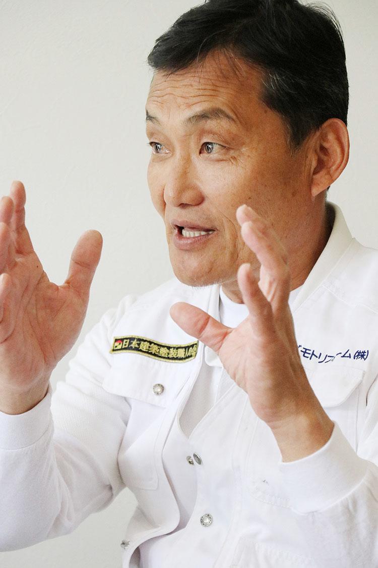 スズモト建築プロフェッショナルグループ株式会社 代表親方・鈴木洋一